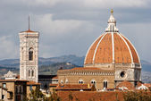Florence, cathedral, italië — Stockfoto