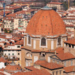 Basilica of St Lawrence, Florence, Italy - Stock Photo