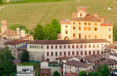 Castle of Barolo, Langhe, Piedmont, Italy — Stock Photo