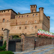 Castle of Grinzane Cavour, Piedmont, Italy — Stock Photo