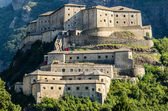 Fort Bard, Aosta Valley — Stock Photo