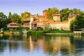 Turin (Torino), Borgo Medievale — Stock Photo