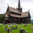 图库照片: Lom Church, Norway