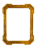 Old golden frame — Stock Photo