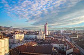 Turin (Torino), panorama from the bell tower — Stock Photo