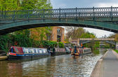 London, Regents Canal — Stockfoto