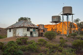 Abandoned station in the Australian Outback — Zdjęcie stockowe