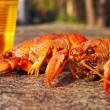 Red cooked crawfish — Stock Photo