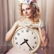 Lady time — Stock Photo