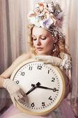 Señora tiempo — Foto de Stock
