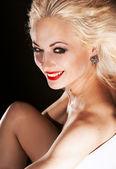 美しい笑顔の女性 — ストック写真