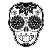 Day of the dead sugar skull — Stock Vector