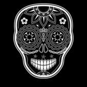 Day of the dead sugar skull — Stock Vector
