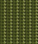 Diagonal green carbon fabric texture — Vector de stock