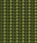 Tekstura tkanina przekątnej węgla zielony — Wektor stockowy