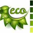 Ecological symbol — Image vectorielle