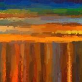 Fondo abstracto de color creado bajo el estilo de una pintura al óleo — Foto de Stock
