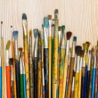 Royalty-Free Stock Photo: Set of paint brushes