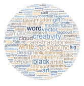 Creativity word cloud — Stock Photo