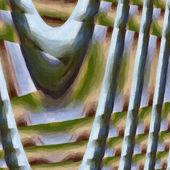 Pozadí abstraktní kroucená — Stock fotografie