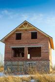 Brick building — Stockfoto