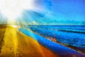 Tropical seascape — Stock Photo