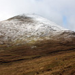 The Galtee mountains in winter, Ireland - Stock Photo