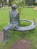 Sculpture of Andrei Sakharov — Stock Photo