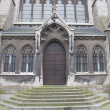 Entrance of Church of Saint Peter and Saint Paul. Ostend — Stock Photo #18274049