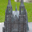Model of Church of Saint Peter and Saint Paul. Ostend, Belgium — Stock Photo #18336377