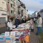 Second hand book market. Ghent, Belgium — Stock Photo #18407049
