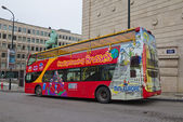 City sightseeing bus. Brussels, Belgium — Stock Photo