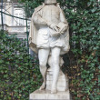 Stock Photo: Statue of Philips of Marnix (circXIX c.), Brussels, Belgium