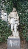 Statue of Philips of Marnix (circa XIX c.), Brussels, Belgium — Stock Photo