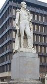 Anıt augustin için brüksel'deki daniel belliard — Stok fotoğraf