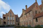 Old St. John's Hospital. Bruges, Belgium — Stock Photo
