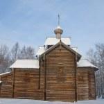 Old church of St. Nicolas (circa XVII c.). Novgorod, Russia — Stock Photo #21624807