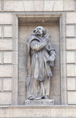 Statue of St. Gregoire de Valois, Madeleine Church, Paris — Stock Photo
