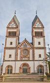 Trójcy kościół prawosławny (1908) w lahr, niemcy — Zdjęcie stockowe