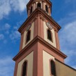 Постер, плакат: Tower of Holy Cross church circa XVII c Offenburg Germany