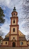 Chiesa santa croce (intorno al xvii sec.). offenburg, germania — Foto Stock