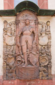 Epitaph (1538) of knight Jorg von Bach. Offenburg, Germany — Foto Stock