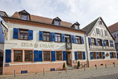Restaurant Zeus Palast in Offenburg, Germany — Stock Photo