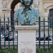 Bust of Marc Seguin, famous engineer. Paris, France — Stock Photo
