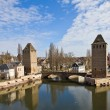 Stock Photo: Covered Bridges (Ponts Couverts ). Strasbourg, France