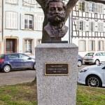 Постер, плакат: Bust of Jean Henri Dunant Strasbourg France