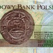 Money of Poland, 10 zlotych 1994 (back side) — Stock Photo