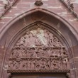 Постер, плакат: Tympanum of church of Saint Pierre le Vieux in Strasbourg