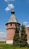 Spasskaya Tower (XVI c.) of Tula Kremlin, Russia — Stock Photo