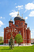 Cathedral of the Dormition (1902) in Tula city, Russia — Foto Stock